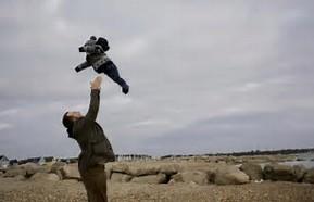 Parent Tossing Child