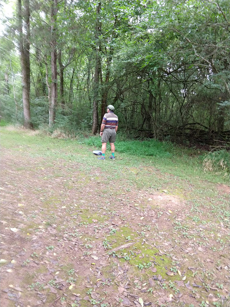 Douglas at Disc Golf